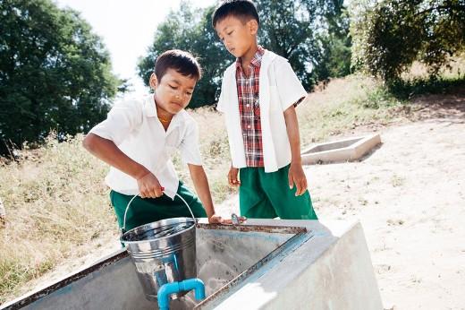 Accesso all'acqua potabile: Asia