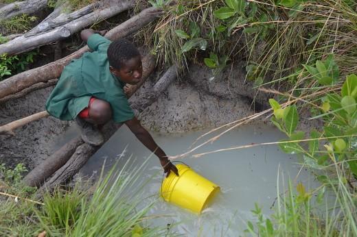 pozzi d'acqua in Africa