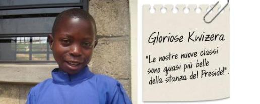 storie di adozioni a distanza: Gloriose