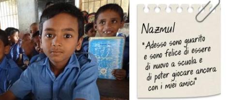 storie di adozioni a distanza: Nazmul