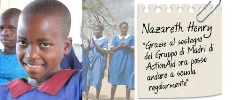 storie di adozioni a distanza: Nazareth