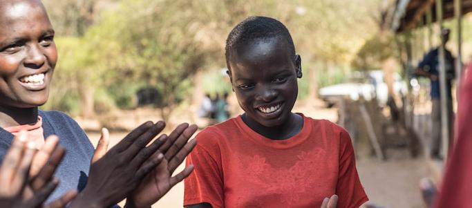storie di adozione a distanza: Malkia