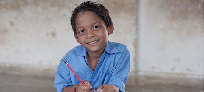 storie di adozione a distanza: Gopal