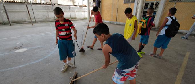 bambini delle favelas