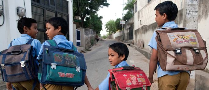analfabetismo India
