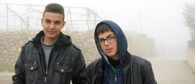 storie dalla Palestina: Haitam e Sofian
