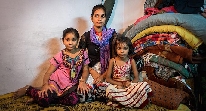 storie di adozione a distanza: Sayeeda