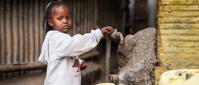 accesso all'acqua potabile nel mondo