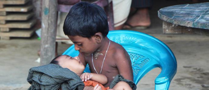 bambini Rohingya