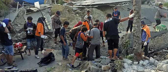 aiuti per l'Indonesia