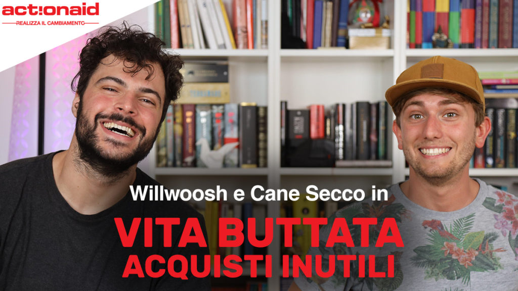 Cane Secco e Willwoosh per ActionAid